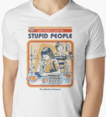 A Cure For Stupid People V-Neck T-Shirt