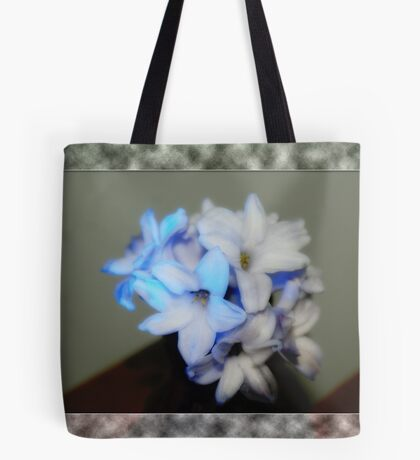 Lighted Bulb With Border Tote Bag