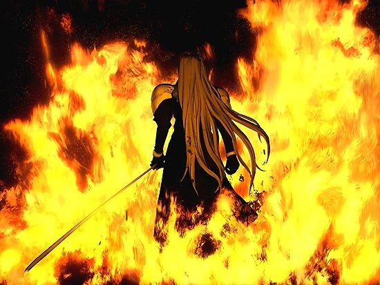 Sephiroth [Disc Change] by GlitchBob452