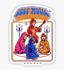 Cult Music Sing-Along Sticker