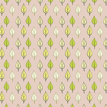 Pastel Leaves  by deecdee