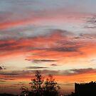 Sun setting on Marrakech by monaiman