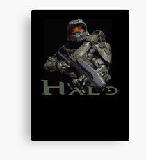 Halo Master Chief Canvas Print
