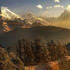 The Annapurna Himalaya, Nepal by Kevin McGennan