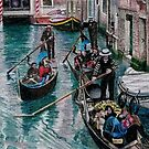 Peak Hour in Venice by Karen  Hull