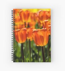 Spring Time Flowers Spiral Notebook