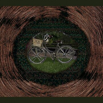 Retro Bicycle Art by MelissaB