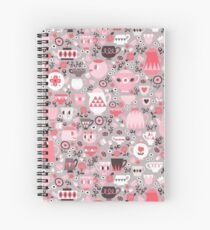 Love Coffee and Tea Spiral Notebook