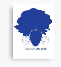 Blue Naturally Beautiful Canvas Print