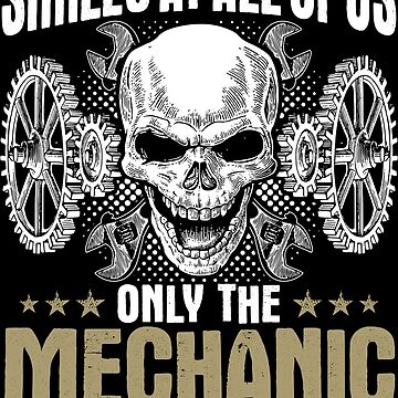 Mechanic Mechanics Smiles Gift Present by Krautshirts