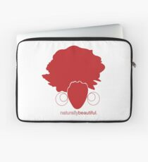 Red Naturally Beautiful Laptop Sleeve
