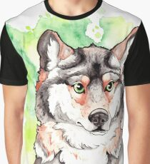 Mexican Gray Wolf Graphic T-Shirt