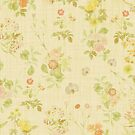 Vintage Floral pattern by mimio2009