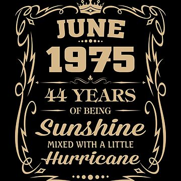 June 1975 Sunshine Mixed With A Little Hurricane by lavatarnt