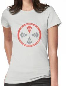 Internal Compass Womens Fitted T-Shirt