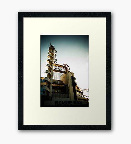 Pleasure Beach! Framed Print