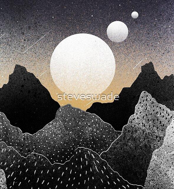A starfield sky by steveswade