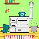 Kitchen by ZnDigitalPrints