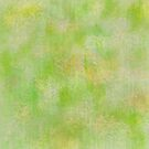 Lime Green Subtle Batik Print by SandAndChi