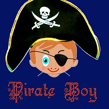 Toon Boy 14 Pirate Boy by ZipaC