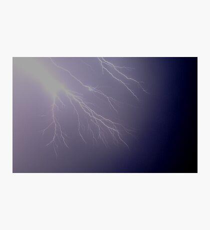 Lightning Fingers Photographic Print