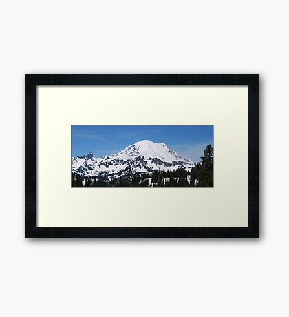 Chinook Pass View Framed Print