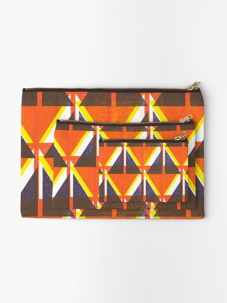 Alternate view of Happy little accident Zipper Pouch