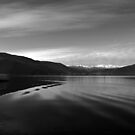 Lake Monochrome in Silence by by-jwp
