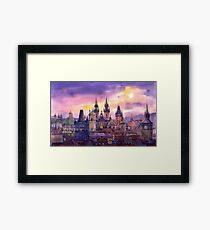 Prague City of Hundres Spiers variant Framed Print