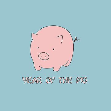 Year of the Pig - Chinese New Year by ValentinaHramov