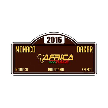 Africa Eco Race - 2016 badge by MichailoAvilov