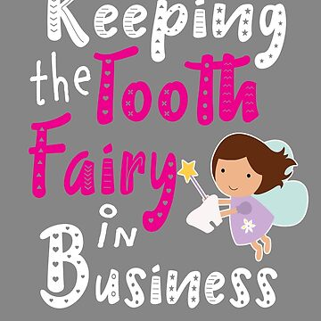 Tooth fairy girls in business on dark by LGamble12345