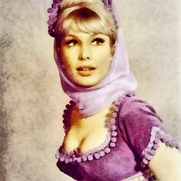 Barbara Eden, Vintage TV Star by SerpentFilms