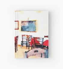 Hotel Sgroi's dining room Hardcover Journal