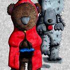 Little Red Riding Hood Bear by Threadbearink