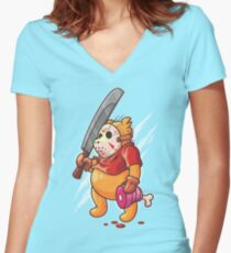Winnie Voorhees Women's Fitted V-Neck T-Shirt