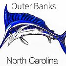 Outer Banks Marlin  by barryknauff