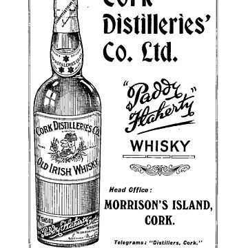 Cork Distilleries advert. by timothybeighton