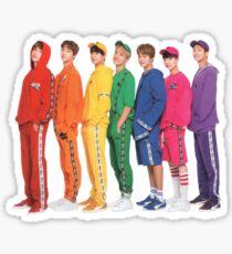 Pegatina Etiqueta linda del grupo - BTS Bangtan