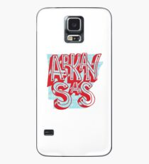 United Shapes of America - Arkansas Case/Skin for Samsung Galaxy