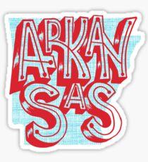 United Shapes of America - Arkansas Sticker