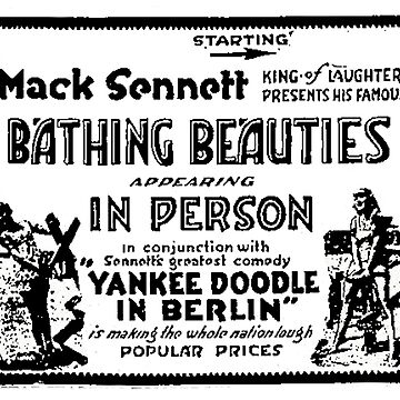 Bathing Beauties advert. by timothybeighton