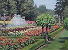 The Rose Garden by Karen Ilari