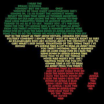 Africa por Toto de Marksman