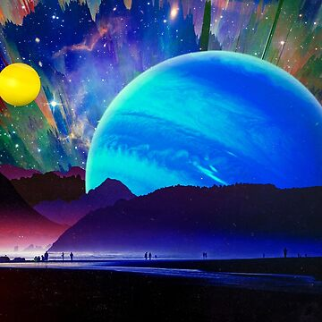 A Sunday Afternoon On The Island Of A Distant Planet   by seamless
