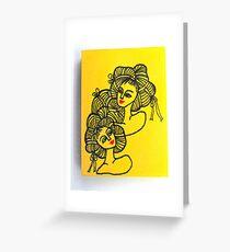 Tiny Diary: Ramen Girls Greeting Card