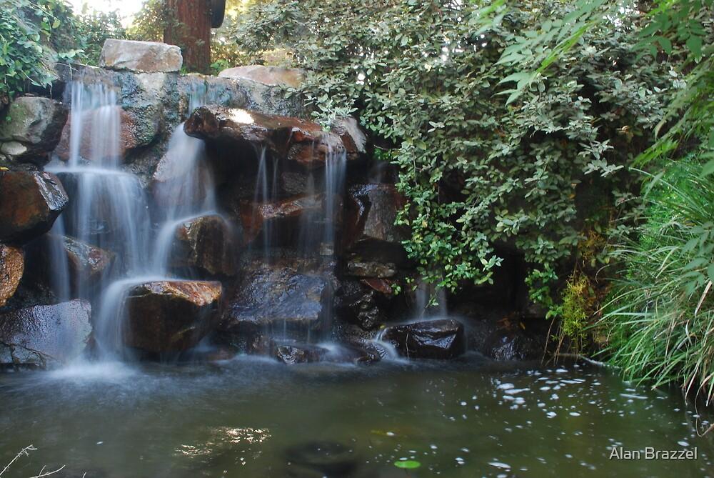 Waterfall-L.A. County Fair by Alan Brazzel