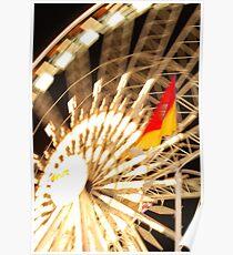 Ferris Wheel-L.A. Fair midway Poster