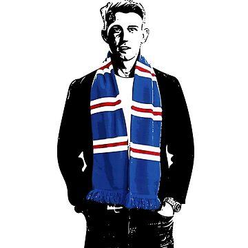 Glasgow Rangers Ryan Jack by trueblueapparel