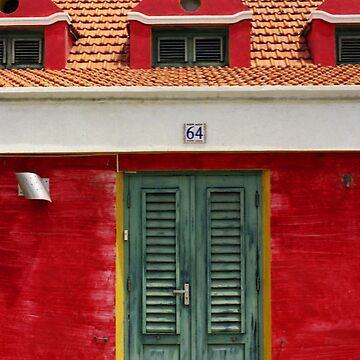 Aruba red house by erozzz